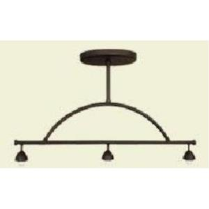 Three Light Mini Pendant - 31.5 inches wide by 37.25 inches high