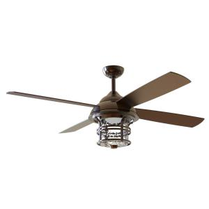 Courtyard - 56 Inch Ceiling Fan with Light Kit
