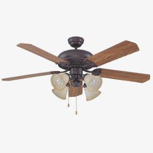 Manor - 52 Inch Dual Mount Ceiling Fan