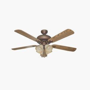 Piedmont - 52 Inch Dual Mount Ceiling Fan
