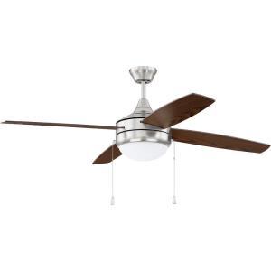 Phaze - 52 Inch 4 Blade Ceiling Fan with Light Kit