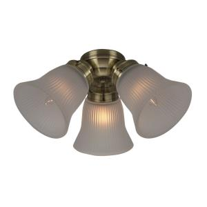 Accessory - 3 Light Universal Fitter - 6.5 inches wide by 3 inches high