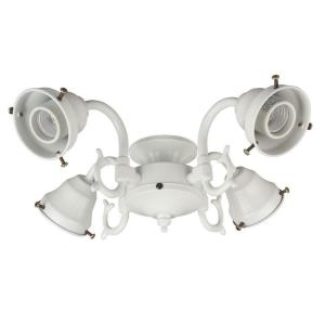 Four Light Cast Fitter - 2.25 inches wide by 4.38 inches high