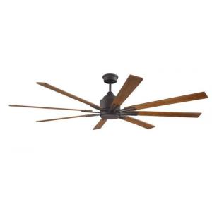 Fleming - Ceiling Fan with Light Kit in Contemporary, Outdoor Style - 70 inches wide by 15.64 inches high