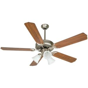 "Pro Builder 205 - 52"" Ceiling Fan with Light Kit"