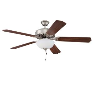 "Pro Builder 201 - 52"" Ceiling Fan with Light Kit"