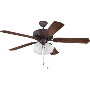 "Pro Builder 203 - 52"" Ceiling Fan with Light Kit"