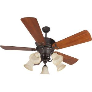 "Riata - 52"" Ceiling Fan with Light Kit"
