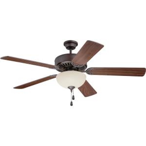 Pro Builder 202 - 52 Inch Ceiling Fan with Light Kit