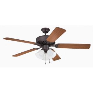 Pro Builder 205 - 52 Inch Ceiling Fan with Light Kit