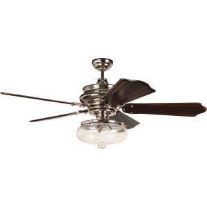 Townsend - Ceiling Fan with Light Kit - 52 inches wide by 8.25 inches high