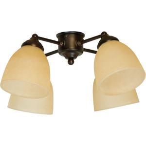 Accessory - 19.25 Inch 36W 4 LED Universal Fan Light Kit