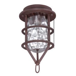 Accessory - 6.3 Inch 1 Light Outdoor Cage Fan Light Kit