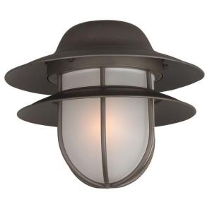Outdoor - One Light Bowl Kit in Transitional Style - 12.25 inches wide by 10.38 inches high