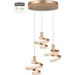 Hue - 19.25 Inch 35W 3 LED LED Mini Pendant