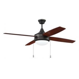 """Phaze - 52"""" 4 Blade Ceiling Fan with Light Kit"""