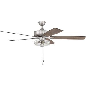 Super Pro 101 Series - 60 Inch 5 Blade Ceiling Fan with Bowl Light Kit