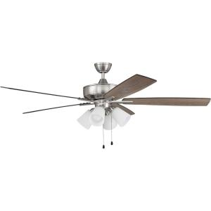 Super Pro 114 Series - 60 Inch 5 Blade Ceiling Fan with Light Kit