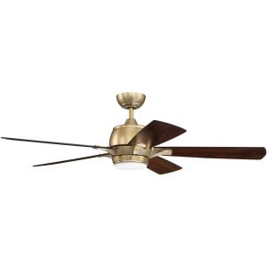 Stellar - 52 Inch Ceiling Fan with Light Kit