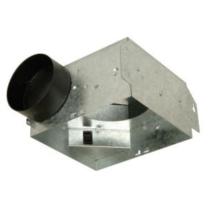 26.25 Inch 50 CFM Bath Vent Housing Only (6 pack)