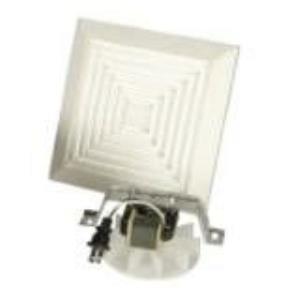 50 CFM Bath Vent Motor & Grill Assembly Only (6 pack) - 13.88 inches wide by 17.88 inches high