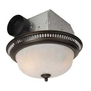 Decorative Bathroom Exhaust Fan in Traditional Style - 14 inches wide by 6 inches high