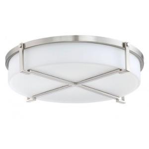 Decorative Ventilation - 15.64 Inch Bath Exhaust Fan Retrofit Kit with LED Light
