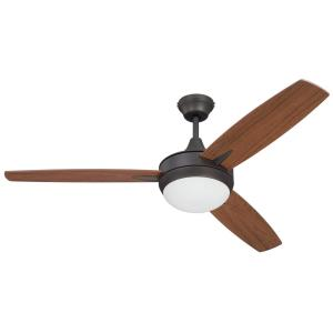 "Targas - 52"" Ceiling Fan with Light Kit"