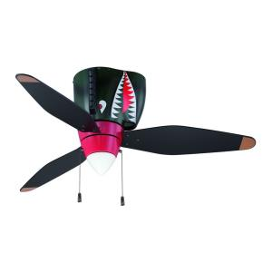 WarPlanes - 48 Inch Ceiling Fan With Light Kit