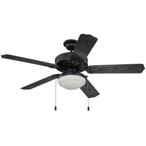 All- Ceiling Fan With Light Kit in Outdoor Style - 52 inches wide by 18.41 inches high