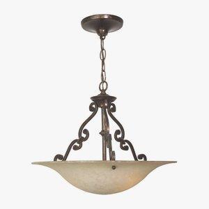 Toscana - Three Light Pendant