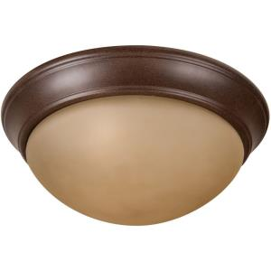 Pro Builder Premium - Three Light Flush Mount