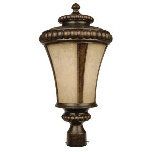 Prescott - 1 Light Outdoor Large Post Mount in Traditional Style - 7.4 inches wide by 22.62 inches high