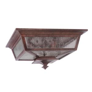 Argent II - Two Light Flush Mount in Transitional Style - 14 inches wide by 6.5 inches high
