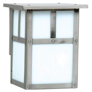 Mission - One Light Outdoor Small Wall Lantern