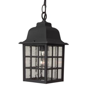 One Light Pendant in Contractor Style - 6 inches wide by 11 inches high