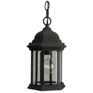 One Light Pendant in Contractor Style - 6.5 inches wide by 11 inches high