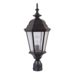 Chadwick - One Light Outdoor Post Mount in Traditional Style - 9.41 inches wide by 22.44 inches high