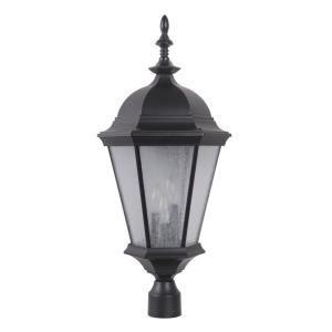 Chadwick - Three Light Large Outdoor Post Lantern in Traditional Style - 11.18 inches wide by 28.69 inches high
