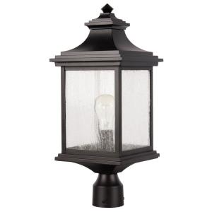 Gentry - One Light Outdoor Post Mount in Traditional Style - 8.5 inches wide by 20.38 inches high