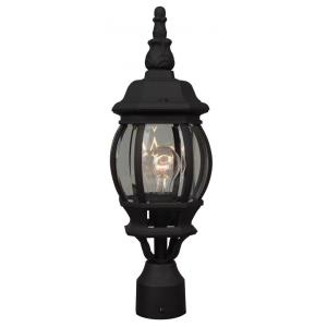 French Style - One Outdoor Small Post Light