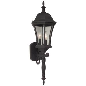 Three Light Outdoor Wall Sconce
