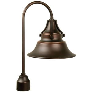 Union - One Light Outdoor Post Lantern in Transitional Style - 12 inches wide by 21.13 inches high