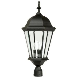Three Light Post Lamp