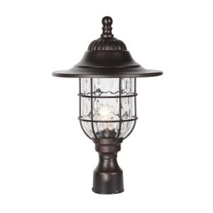 Fairmount - One Light Outdoor Large Post Mount in Traditional Style - 11.5 inches wide by 18.13 inches high