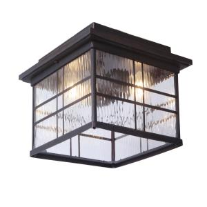Dorset - Two Light Outdoor Post Lantern in Transitional Style - 12.99 inches wide by 6.89 inches high