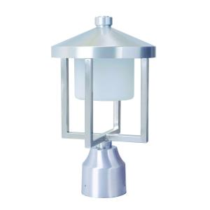 Alta - 8.5W 1 LED Medium Outdoor Post Lantern in Transitional Style - 7.5 inches wide by 12.5 inches high