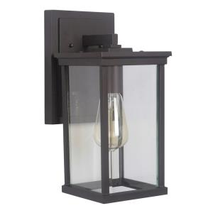 Riviera III 13.75 Inch Medium Outdoor Wall Lantern  Aluminum Approved for Wet Locations