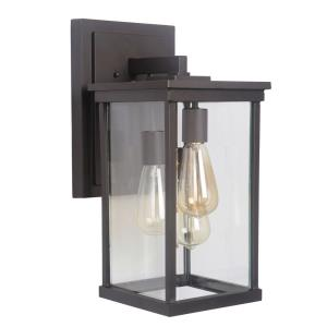 Riviera III 17.25 Inch Large Outdoor Wall Lantern  Aluminum Approved for Wet Locations