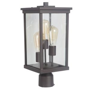 Riviera III - Three Light Large Outdoor Post Lantern